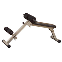 Banc de musculation Best Fitness Banc abdo et Hyper-extension