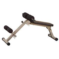 Banc de musculation Best Fitness Banc abdo et Hyper-extension