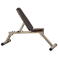 Banc de musculation Best Fitness Banc incliné décliné pliable