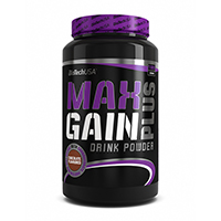 Prise de masse Max Gain Plus BIOTECH USA - Fitnessboutique