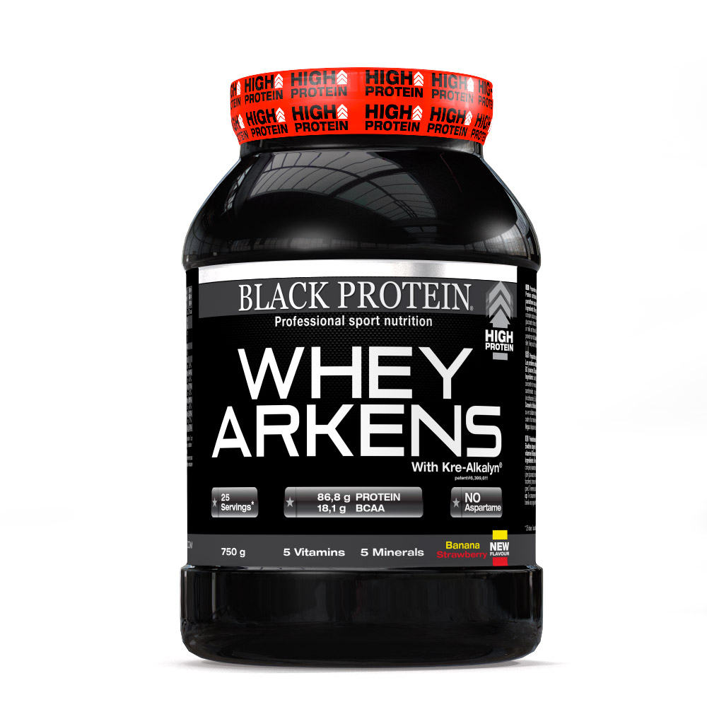 Black Protein Whey Arkens