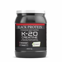 creapure K 20 Creatine Black Protein - Fitnessboutique