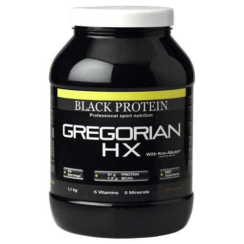 Prise de masse Black Protein Gregorian Hx / Gainer
