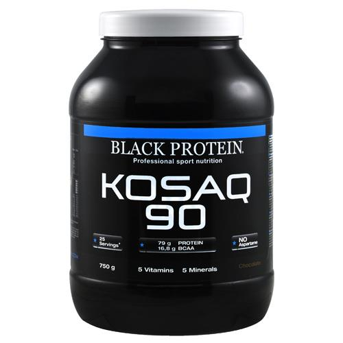 Caséine Kosaq 90 / Caséine Black Protein - Fitnessboutique