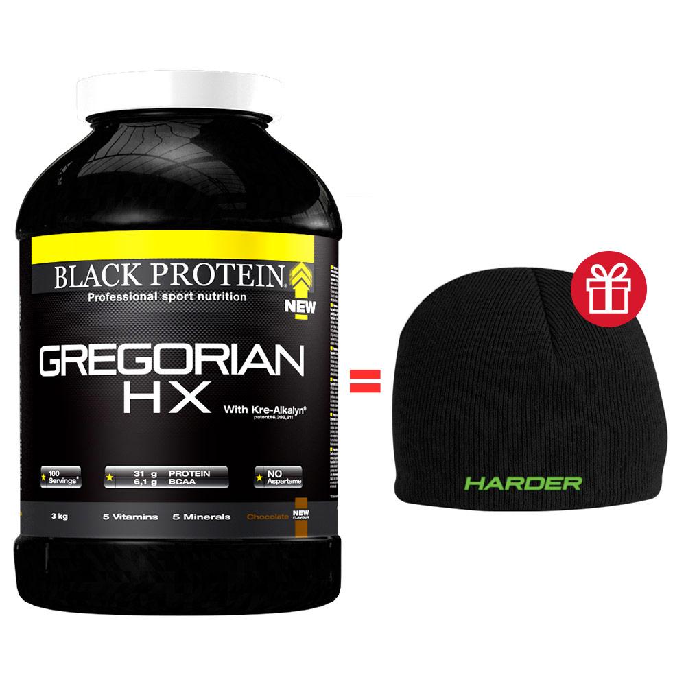 Prise de masse Pack Gregorian Hx BLACK-PROTEIN Pot de 3 kg ...
