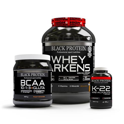 Protéines Black Protein Pack Reprise Musclée