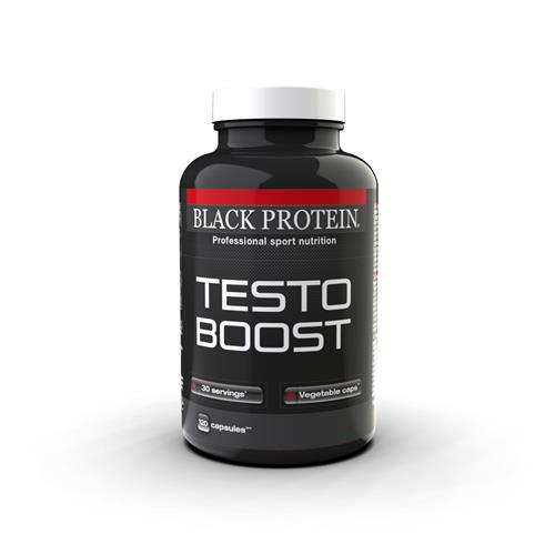 pre workout Testo Boost Black Protein - Fitnessboutique