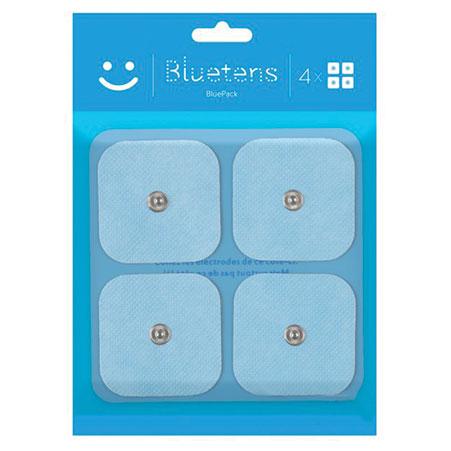 BLUETENS Pack de 4 électrodes S