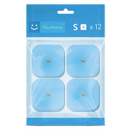 BLUETENS Pack de 12 électrodes S