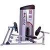 Poste cuisses et mollets Leg Press Calf Raise 140 kg Bodysolid Club Line - Fitnessboutique