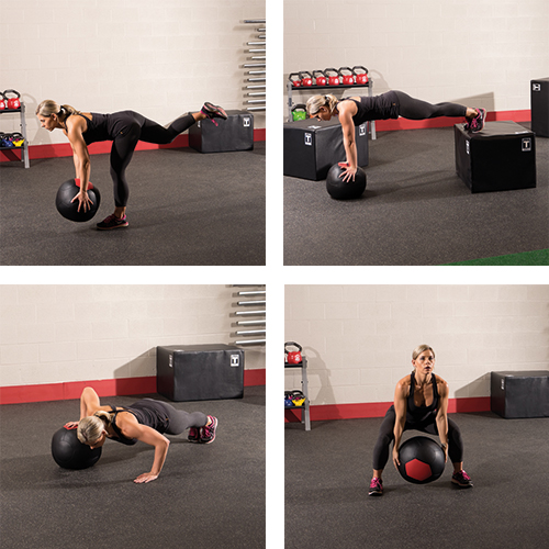 Bodysolid Wall Ball