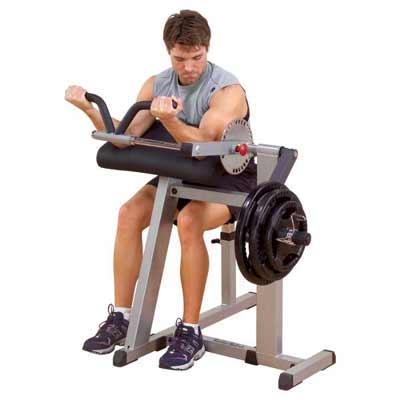 Bodysolid Biceps et Triceps Machine CBT380
