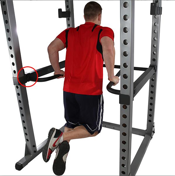 Bodysolid Option Dips pour cage à squat GPR378