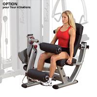 Postes isolés Bodysolid Pro Dual OPTION Double poste Leg Extension & Curl