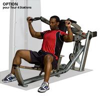 Poste pectoraux et épaules Bodysolid Pro Dual Option Extension Pro Dual Multi Press