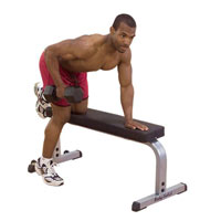 Banc de musculation Banc Plat Bodysolid - Fitnessboutique