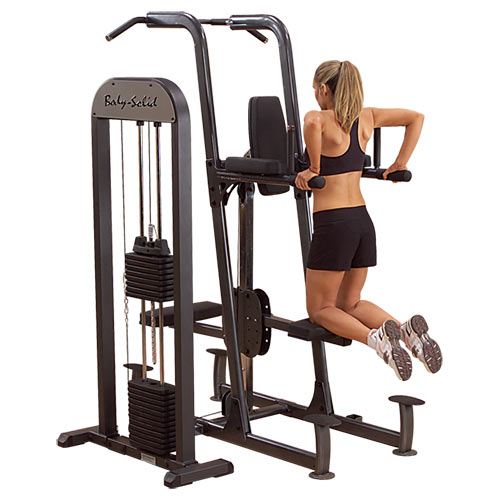Bodysolid Chin-Dip Machine Assisté