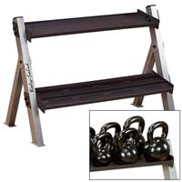 Support de rangement Bodysolid Kettlebell Rack Reversable For Hex