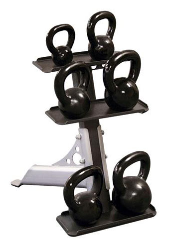 Bodysolid Rack 6 Kettlebells