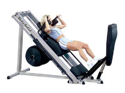 Bodysolid Club Line Leg Press et Hack Squat 45 Degrés