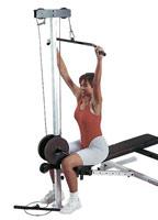 Banc de musculation Bodysolid Option Poulie haute et basse
