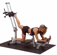 Poste cuisses et mollets Glute Master Powerline - Fitnessboutique