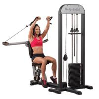 Poste pectoraux et épaules Press Pec Deck 95 kg Stack Bodysolid - Fitnessboutique