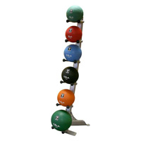 Médecine Ball et Balle lestée Bodysolid Rack 6 Medicines Balls