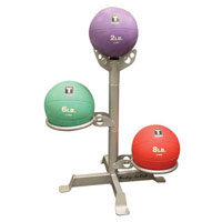 Médecine Ball et Balle lestée Bodysolid Rack 3 Medicines Balls