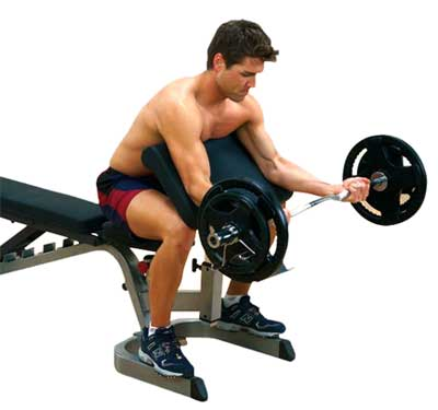 Bodysolid Option Pupitre Biceps