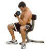 Banc de musculation Utility Stool Bodysolid - Fitnessboutique