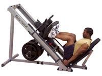Poste cuisses et mollets Presse Jambes 51 mm Bodysolid - Fitnessboutique