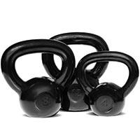 Kettlebells Kettlebell en fonte poli 4 kg Bodysolid - Fitnessboutique