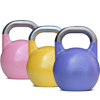 Kettlebells Compétition 16 kg Yellow Bodysolid - Fitnessboutique