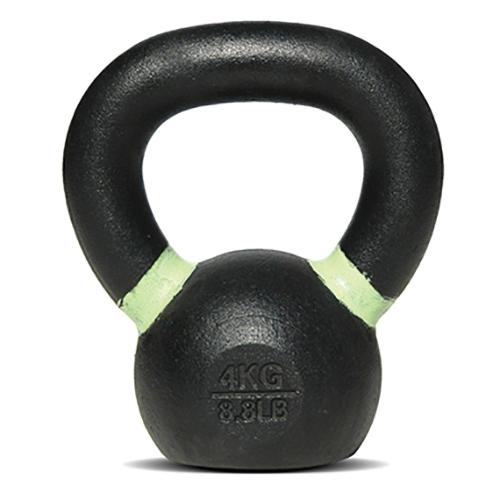 Bodysolid Kettlebell 4 kg Black - Light Green
