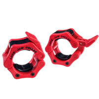 Musculation Bodysolid Olympic Lock-Jaw Collar Red