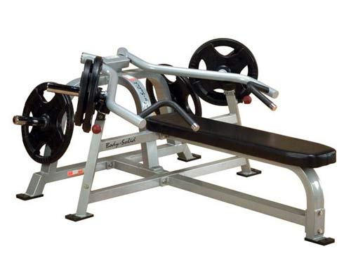 Bodysolid Club Line Pro Average Banc Plat Presse à Bras