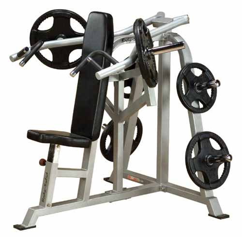 Bodysolid Club Line Press Bench Shoulder Développé Epaules Leverage