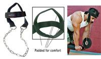 Accessoire de tirage Nylon Head Harnass Bodysolid - Fitnessboutique