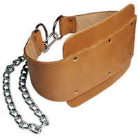 Accessoire de tirage Bodysolid Leather Dipping Belt