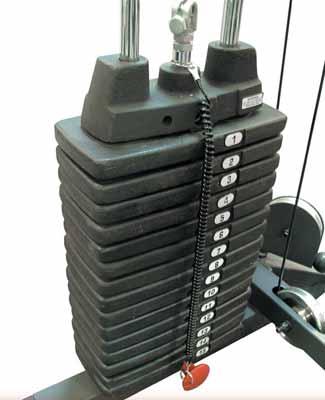 Bodysolid Option 90,5kg de Poids pour cage à squat GPR378