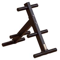 Support de rangement Olympic EZ-Load Weight Tree Bodysolid - Fitnessboutique