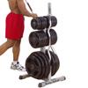 Support de rangement Rangement Disques et Barres Olympiques Bodysolid - Fitnessboutique