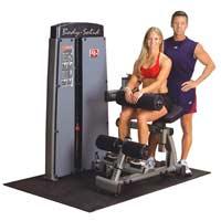 Poste abdominaux Double poste Abdo & Lombaires Bodysolid Pro Dual - Fitnessboutique