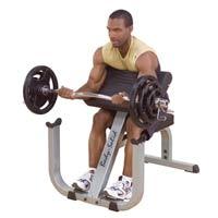 Poste pour les bras Bodysolid Pupitre à Biceps