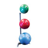 Médecine Ball et Balle lestée Bodysolid Rack 3 Stability Balls