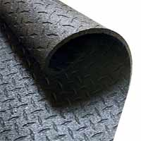 Protections de sol Bodysolid Protective Rubber Flouring