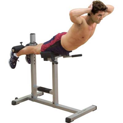 Bodysolid Banc a lombaire horizontal