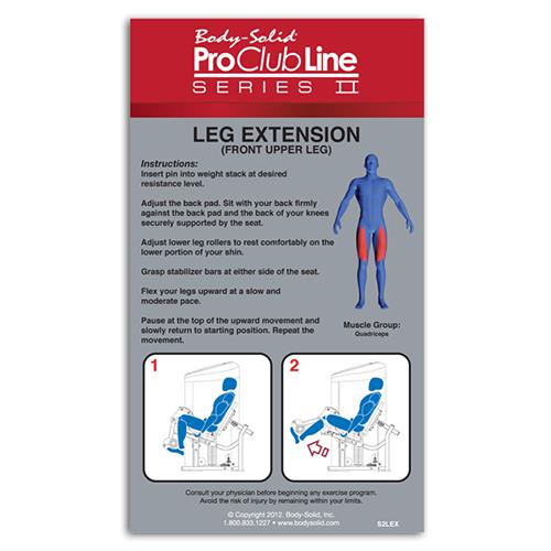 Bodysolid Club Line Leg Extension 105 kg