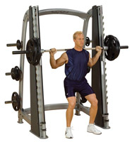 Smith Machine Counter Balanced Smith Machine Bodysolid Club Line - Fitnessboutique